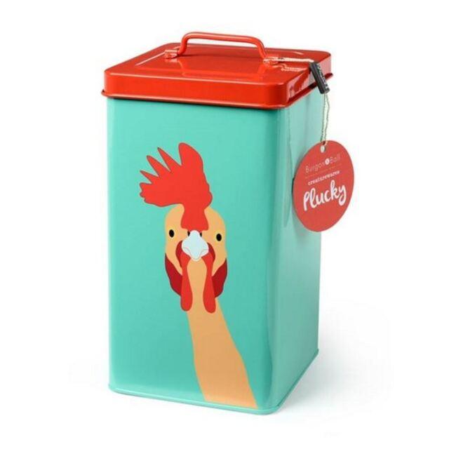 Burgon Ball Creaturewares Plucky Chicken Storage Tin Ebay
