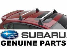 2012-2016 Subaru Impreza OEM Fixed Roof Rack Kit Cross Bar Set - E361SFJ000