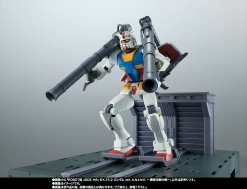 Final Battle Specifications A.N.I.M.E ROBOT SPIRITS SIDE MS RX-78-2 GUNDAM ver