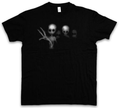 Alien Ghosts T-shirt UFO Area Restricted flugscheibe 51 Alien fantômes ESPRIT