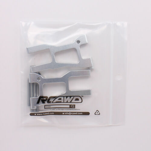 Alloy Front Lower Suspension Arm Set A-arm Left Right For 1//10 RC Car HPI RS4