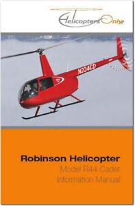 robinson r44 cadet helicopter pilots information manual ebay rh ebay com robinson r22 pilot handbook Robinson R44
