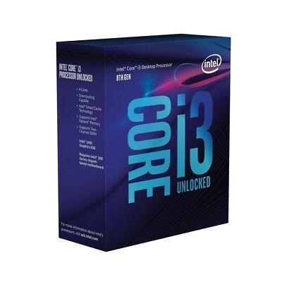 Intel i3 8100 BOX CPU, Prozessor, Quad Core, mit Lüfter, Coffee Lake LGA 1151