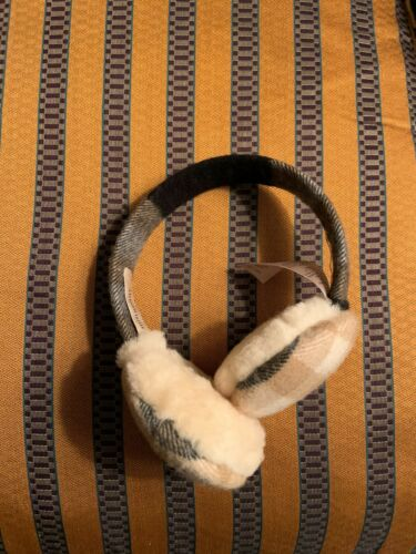 Authentic Burberry ear muffs