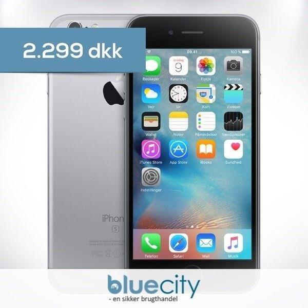 iPhone 6S, GB 32, sort