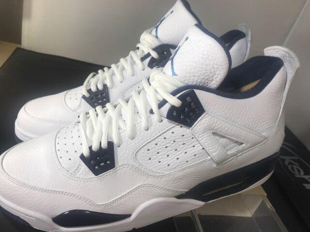 Size 10 - Jordan 4 Retro LS Legend Blue