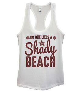 d7d1ca03a562b Image is loading No-One-Likes-A-Shady-Beach-Womens-Fashion-
