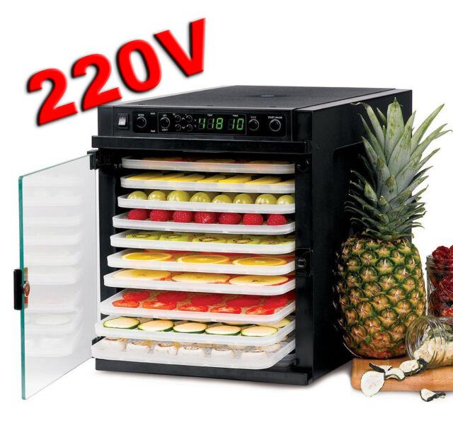 Tribest Sedona Express SD-6280 220V-240V 11-Tray Food Dehydrator BPA-Free Trays