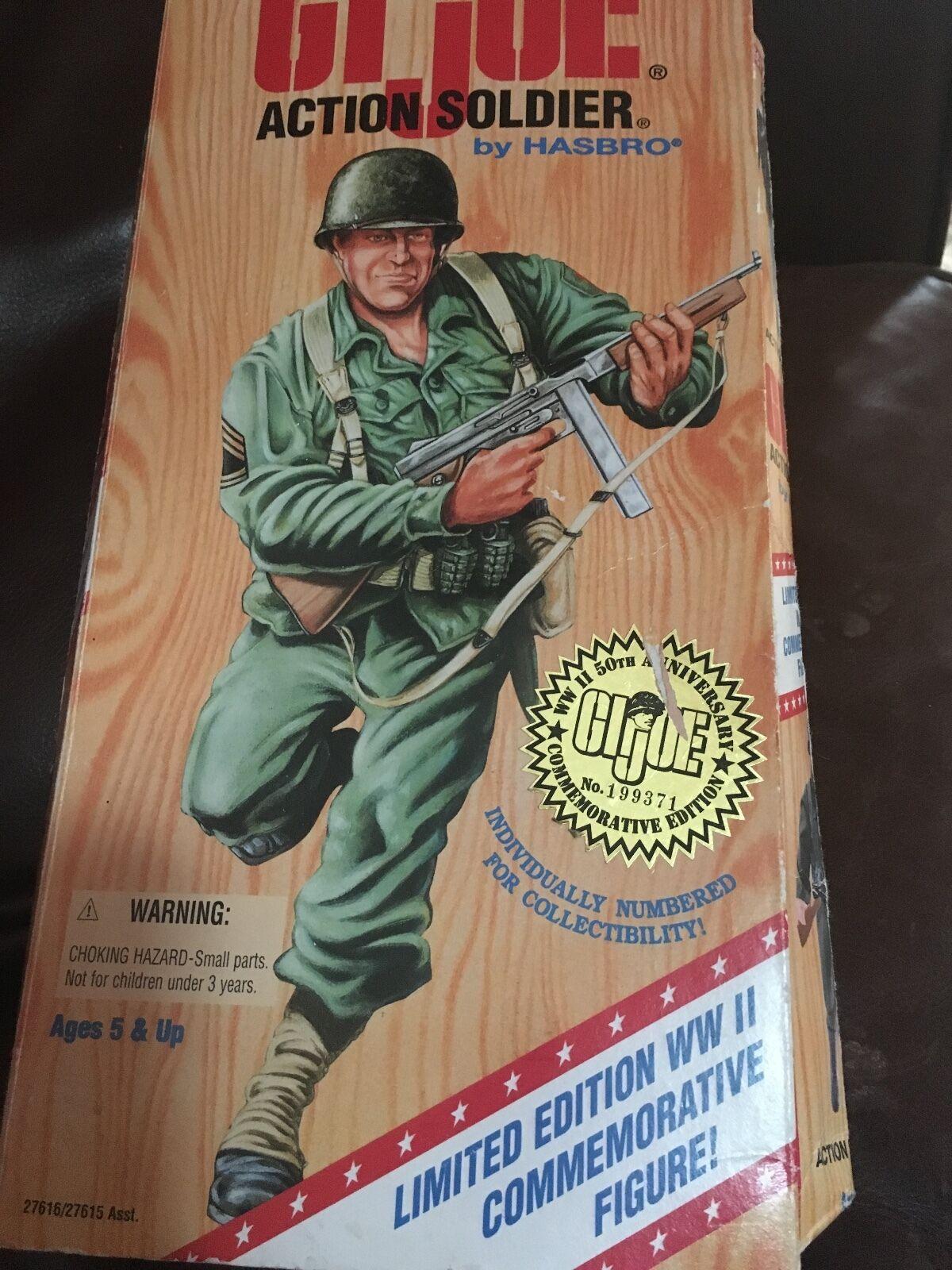 Hasbro gi joe limited edition ww ii gedenk - abbildung 50. jahrestag   19937