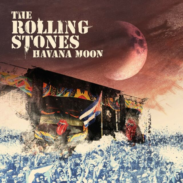 THE ROLLING STONES - HAVANA MOON (NEW RELEASE)  2 CD+DVD NEW!