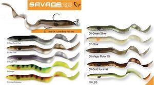 Savage-Gear-Real-Eel-Loose-Body-15-20-30-40cm-Gummifisch-fuer-Hecht-und-Wels
