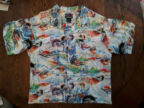 Vintage PATAGONIA PATALOHA Hawaiian Camp Shirt 199