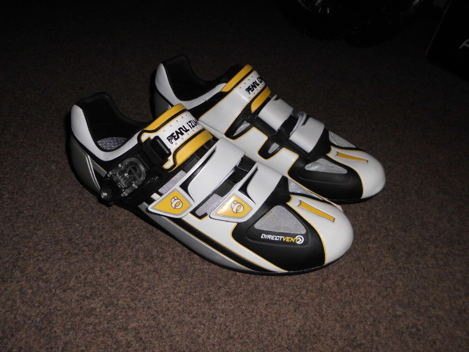 BICICLETTA da corsa scarpe Pearl Pro Road Carbon GR. 45, Bianco NUOVO,