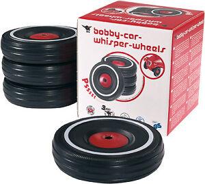 BIG-Bobby-Car-Fluesterreifen-Reifen-Raeder-leise-laufleise-Zubehoer-Fluesterraeder