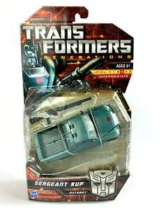Sergeant Kup Transformers Generations Action Figure New 2010 Hasbro Deluxe Class