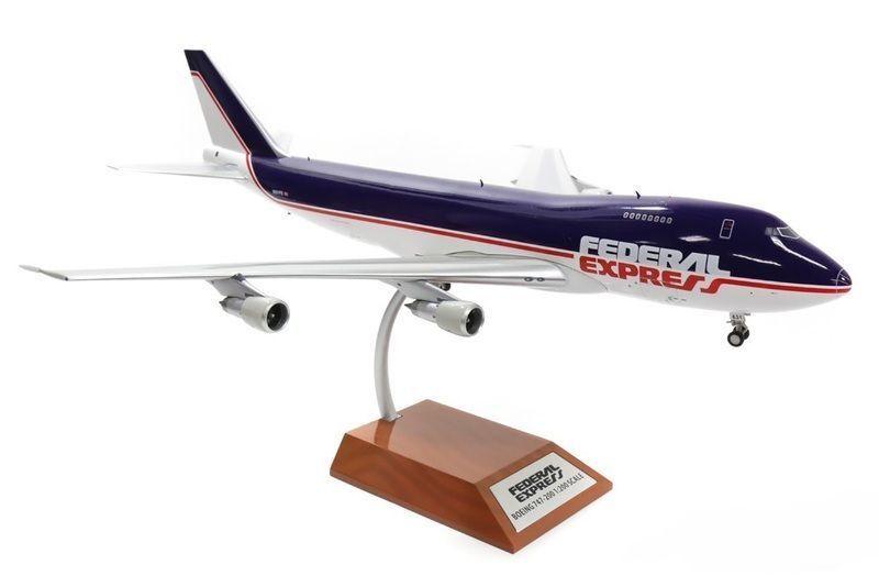 Jfox WB 747 FedEx 1 200 Boeing 747F de FedEx N631FE con soporte limitado edn 120 piezas