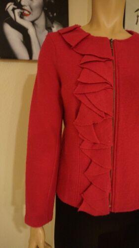 100 con lana in grandi al 100 volant Chico's Magnifica giacca 0qRfII