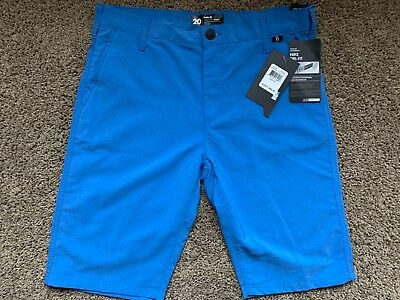 BRAND NEW HURLEY NIKE DRI FIT MENS OR BOYS SHORTS CHINO REGULAR SIZE 20 30 x 21