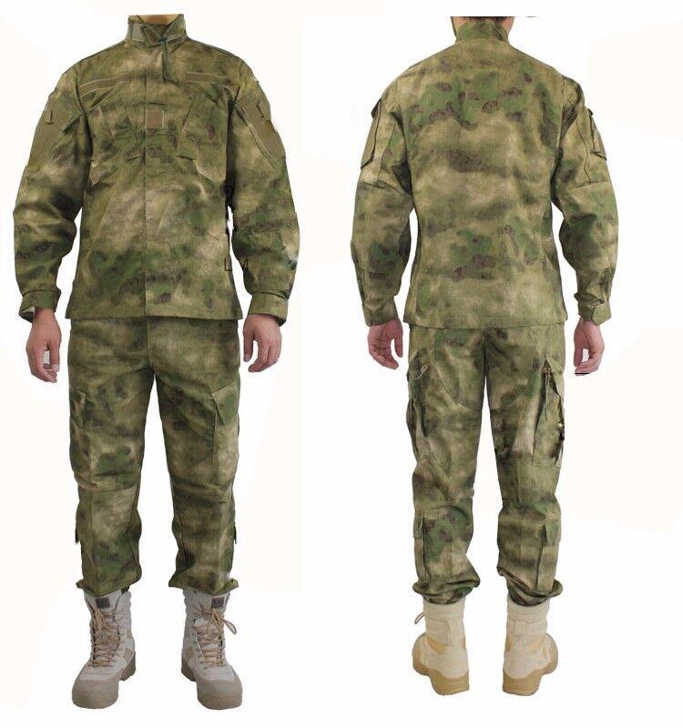 A-TACS FG Camo Tactical Military Combat Uniform Shirt & Pants  XS-XL