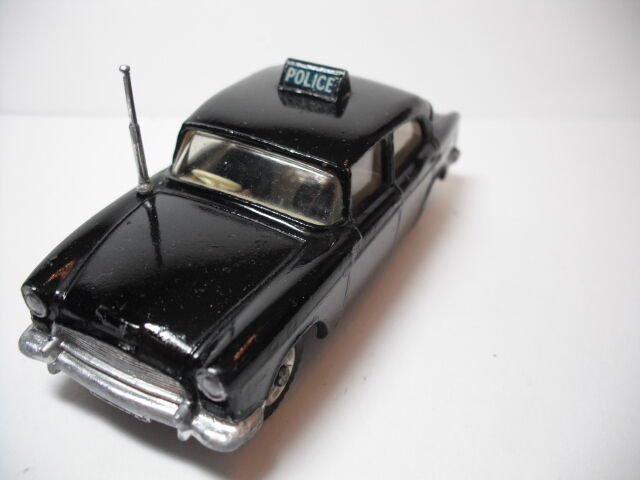 Vintage 1958 Dinky Toy     256 Humber coche de policía casi perfecto 389f46