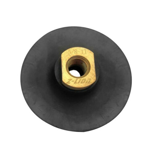 Marble Polishing Hook /& Loop 4 inch Rubber Backer Pad for Stone Granite