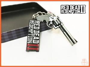 Red-Dead-Redemption-2-Schluesselanhaenger-Rockstar-Games-NEU-Keychain