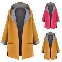 Womens Warm Winter Hooded Coat Jacket Ladies Parka Girls Overcoat Casual Outwear