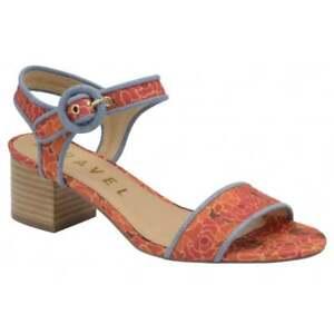 Ferse Sandalen Damen 4 Block Mitte Qualität Uk Lässige Ravel Sommer Louise Red Kleid OfvzxZO