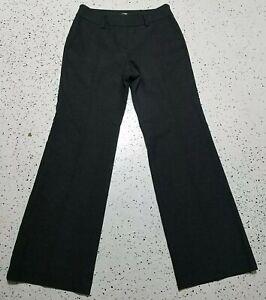 Ann-Taylor-LOFT-Julie-Women-039-s-Dress-Pants-Sz-4-Gray-Straight-Mid-Rise