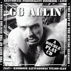 Suicide Sessions/Anti-Social Personality Disorder: Live by G.G. Allin (CD, Apr-1997, Aware One)