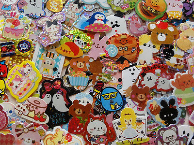 SUPER Lot 400 sticker flakes cute kawaii diary journal planner variety decorate