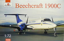 Beechcraft 1900D, 1:72, Amodel ,Turboprop Falcon Express Cargo, NEU