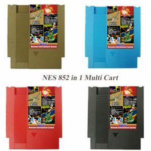 852-in-1-405-447-Forever-Duo-NES-Games-For-Nintendo-Gold-Cartridge-Multi-Cart