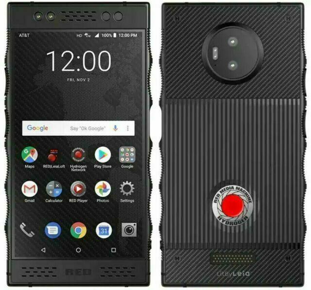 RED HYDROGEN One - 128 GB - Black Aluminium AT&T GSM Phone