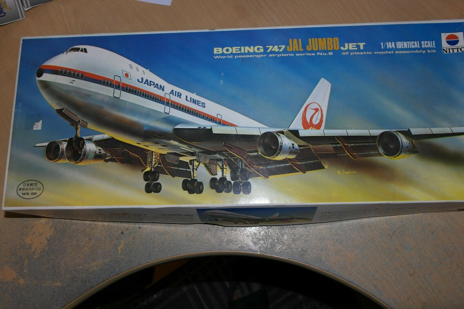 NITTO 1 144 BOEING 747 JAL JUMBO JET 159-1500