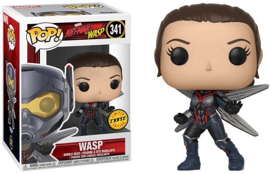 Marvel Ant-Man & The Wasp - Persecución Wasp 9.5cm Pop Vinyl Figura Funko 341Gb