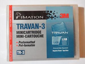 Imation-3-M-Travan-3-TR3-TR-3-Mini-Data-Tape-cartouche-1-6-3-2GB-preformates-nouveau