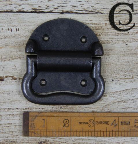 "screws 4/"" Large Heavy 2 part Cast Antique Iron Chest Box Lifting Handle 100mm"