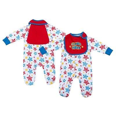 KüHn Neu Baby Jungen Strampler Lätzchen Set Gr.56 62 68 Englandmode Preisnachlass