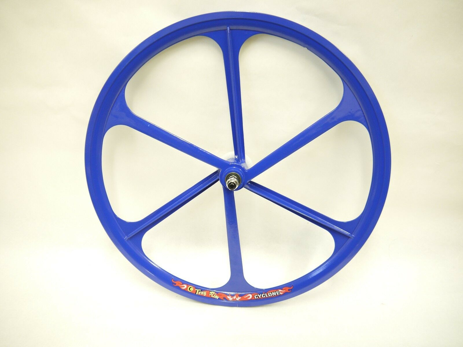 blueee Fixed Gear Mag Wheel by TENY RIMS. 26 x 1.25. Fixie bike. Bicycle.