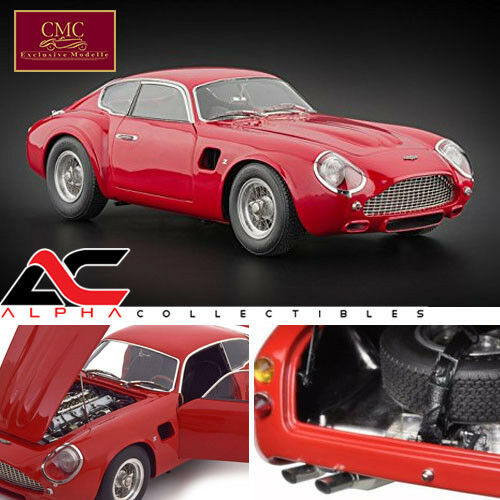 MCC M-146 1 18 1961 Aston Martin Racing Rouge DB4 GT ZAGATO Diecast Limited Edition 1,000 Made