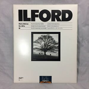 "Ilford 16 x 20"" in Multigrade IV RC Deluxe MGD.25M B/&W Satin Paper 10 Sheet"