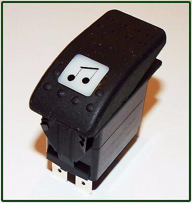 Carling Technologies VDD1 2 Position Rocker Switch 20 A 12V 12 VDC TSC
