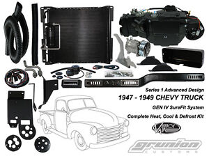 Details about Vintage Air 1947-1949 Chevy Truck DELUXE 6 CYL Air Conditioning on