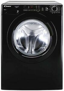 Candy GVO1482DB3B Free Standing 8KG 1400 Spin Washing Machine A+++ Black