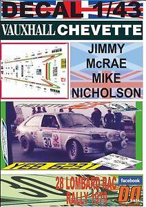 DECAL-1-43-VAUXHALL-CHEVETTE-2300-HS-JIMMY-McRAE-RAC-R-1979-12nd-01