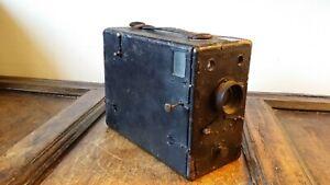 Annees-1890-annees-1900-antique-grande-chute-plaque-MAGAZINE-Box-Camera-320