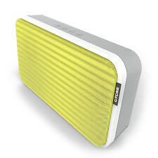 OTONE BluWall extrem flacher tragbarer Wireless Bluetooth Lautsprecher gelb