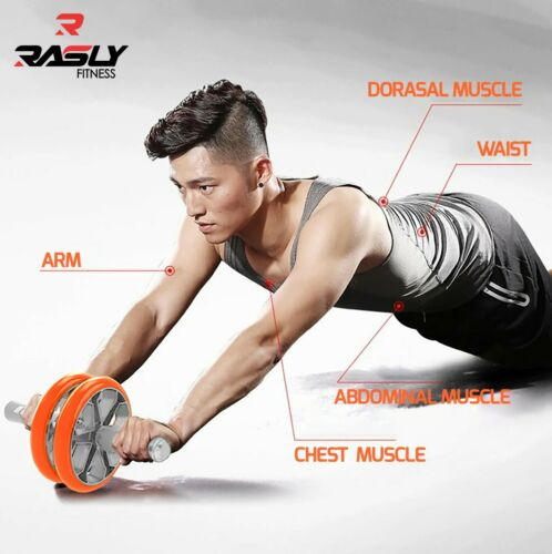 Abdominal Exercise Wheel Chest Expander Push Up Handles Sports Fitness Home Gym