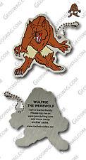 Werewolf Cache Buddy (Travel Bug) For Geocaching